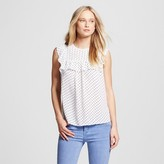 Who What Wear Women's Sleeveless Pioneer Pullover Shirt