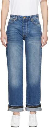 Victoria Victoria Beckham Blue Arizona Jeans