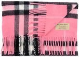Burberry Giant Check Scarf 168x30