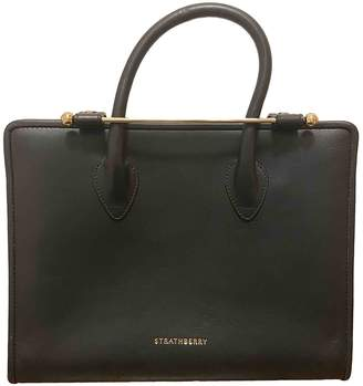 Strathberry Black Leather Handbags