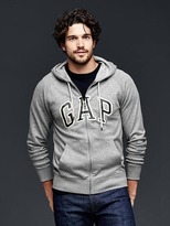 Gap Arch logo heavyweight zip hoodie