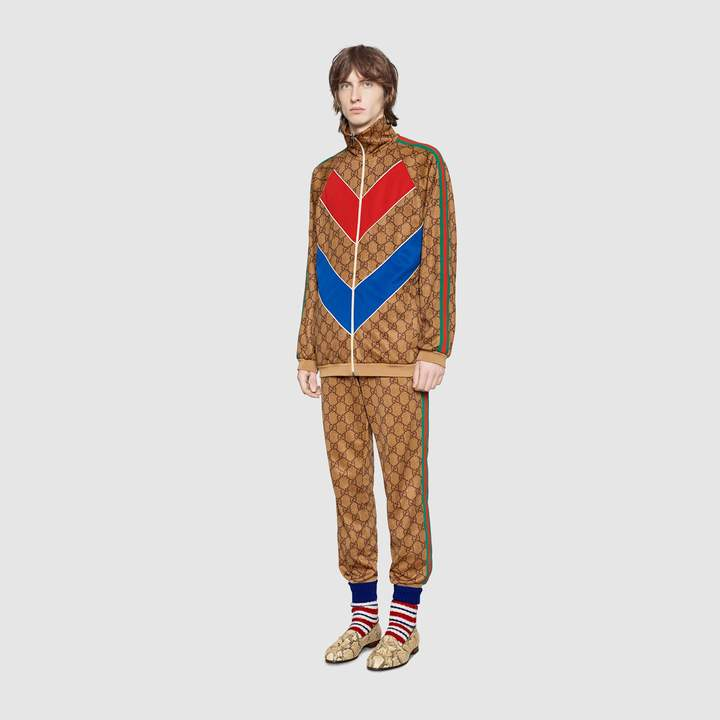 Gucci GG technical jersey jogging pant