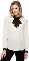 Juicy Couture Silk Shirt With Tie