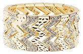 Charlotte Russe Plus Size Embellished Stretch Cuff Bracelet