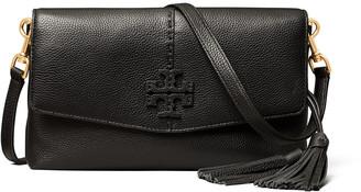 Tory Burch McGraw Leather Envelope Crossbody Bag