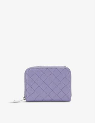 Bottega Veneta Intrecciato woven leather purse