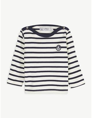 Petit Bateau Cotton striped top 6-36 months