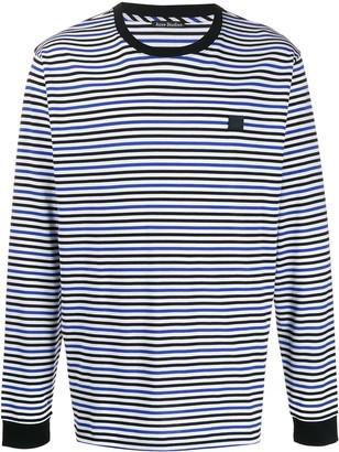 Acne Studios striped long-sleeved T-shirt