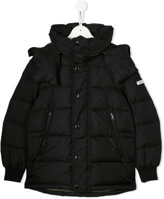 Moncler Enfant M logo padded jacket