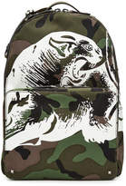 Valentino Rockstud Printed Camouflage Backpack