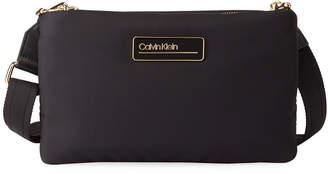 Calvin Klein Jaina Nylon Crossbody Zip Bag