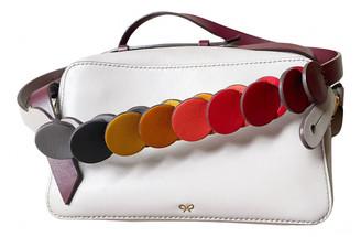 Anya Hindmarch Maxi Zip White Leather Handbags