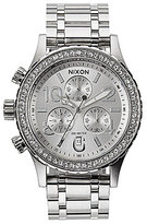 Nixon The 38-20 Crystal Bezel Chrono Watch