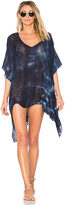 Blue Life Cape Cool Cover Up in Blue. - size M/L (also in XS/S)