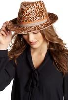 Helen Kaminski Drina Print Wool Hat