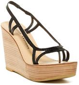 Chinese Laundry Ravenous Platform Wedge Leather Sandal