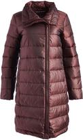 Cole Haan Brick Funnel Collar Puffer Coat