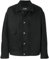 Raf Simons oversized button jacket