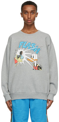 Gucci Grey Disney Edition Donald Duck Sweatshirt