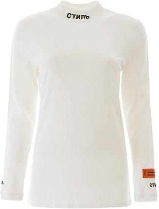 Heron Preston Mock-Neck Long-Sleeve Shirt