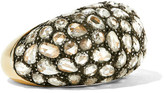 Fred Leighton - Collection 18-karat Gold, Silver And Diamond Ring - 6 1/2