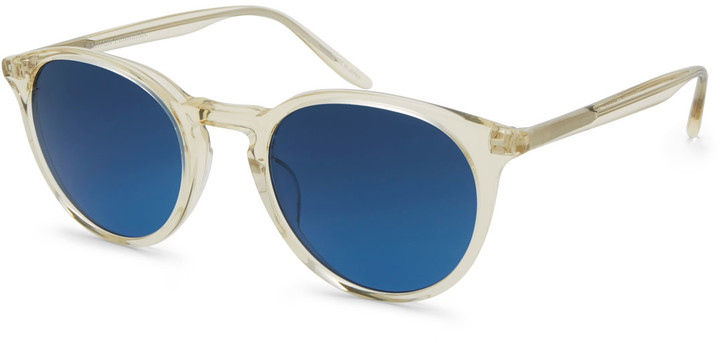 Barton Perreira Men's Princeton Round Sunglasses