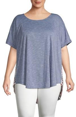American Rag Plus Back-Printed T-Shirt