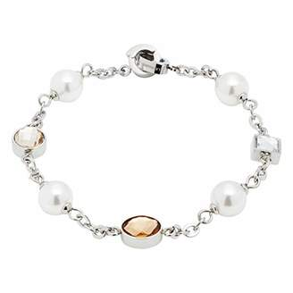 Jewels By Leonardo Leonardo Jewels Women Stainless Steel Charm Bracelet - 16661