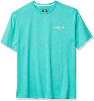 Quiksilver Waterman Men's Gut Check Short Sleeve Rashguard UPF 50+