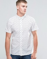 NATIVE YOUTH Cacutus Print Short Sleeve Shirt