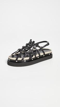3.1 Phillip Lim Yasmine Cage Espadrille Platform Sandals