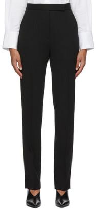 PARTOW Black Wool Anita Trousers