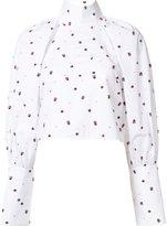 Ellery 'Regency' cropped shirt