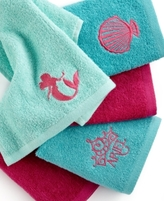Disney Bath Accessories, Little Mermaid Shimmer and Gleam 5 Piece Washcloth Set