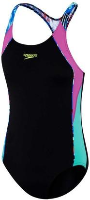 Speedo Girls Image Piece Swimsuit