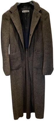 Jil Sander Brown Cashmere Coat for Women
