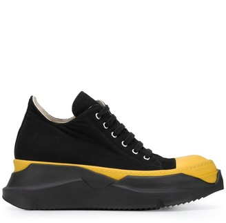 Rick Owens Lace-Up Low Top Sneakers