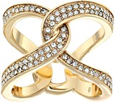 Michael Kors Brilliance Pavé Crystal Interlock Ring