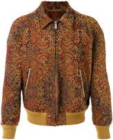 Saint Laurent Marrakech teddy baseball jacket