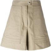 Isabel Marant wide leg shorts - women - Cotton - 36