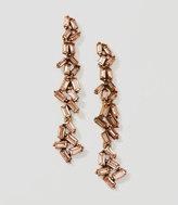 LOFT Baguette Chandelier Earrings