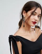 Lipsy Statement Cross Earrings