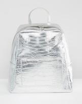 Asos Croc Square Backpack
