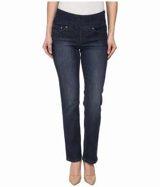 Jag Jeans Women's Petite Peri Pull-On Straight Leg