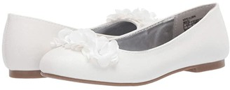 Kenneth Cole Reaction Vote Floral (Toddler/Little Kid/Big Kid) (White) Girl's Shoes