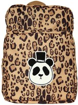 Mini Rodini Leopard Printed Nylon Canvas Backpack