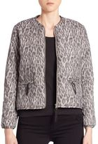Generation Love Leopard Bomber