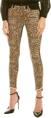 Alice + Olivia Good High-Rise Queen Of The Night Skinny Leg Jean