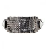 Mela Artisans Cleopatra In White/Silver Bracelet