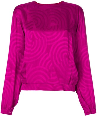 Christian Dior Pre-Owned patterned blouse